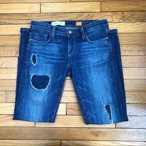 Pilcro & the letterpress patchwork blue jeans 26